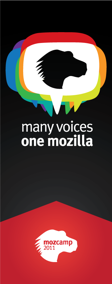 Many Voices One Mozilla Banner