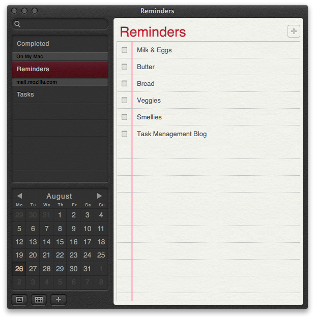 Apple Reminders